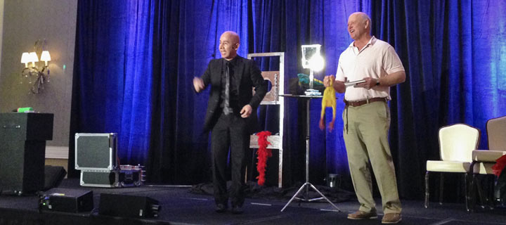 corporate shows, conventions & conferences, magician