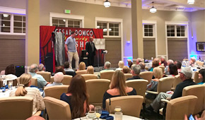 Magician in Apopka Cesar Domico. Comedy Magic shows Country Clubs, Fundraising Events