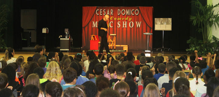 Florida Entertainer and Magician Cesar Domico for your High School event