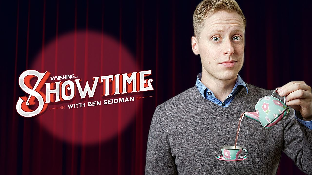 Magician Ben Seidman in Online, Vanishing Inc. Showtime