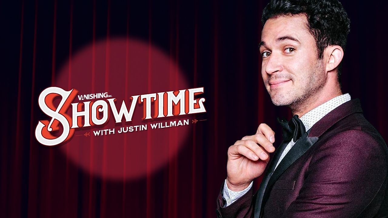 Magician Justin Willman in Online, Vanishing Inc. Showtime